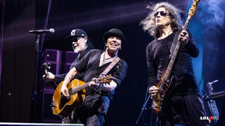 Рок-музыкант Гарик Сукачев дал большой концерт в Ростове: показываем, как это было