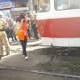 Ехал в наушниках: в Самаре трамвай сбил велосипедиста