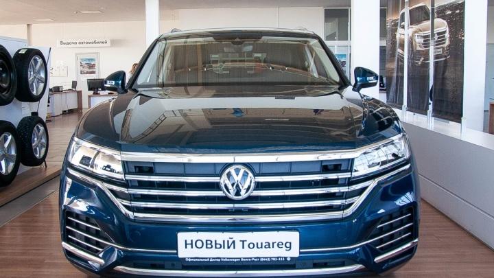 Volkswagen Touareg: городской житель или отличный спутник по бездорожью