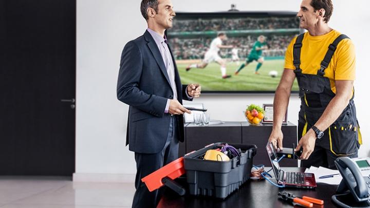 IPTV – новые возможности для корпоративных клиентов «Дом.ru Бизнес»