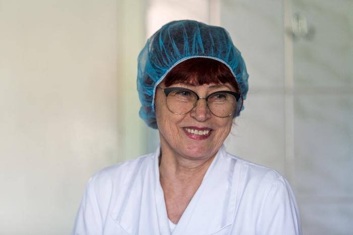 Зоя Светлова работает медсестрой в гинекологической больнице на Перевозчикова