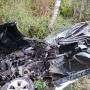 Обгонял экскаватор: на «пьяной» дороге в Ярославле BMW разлетелся на куски