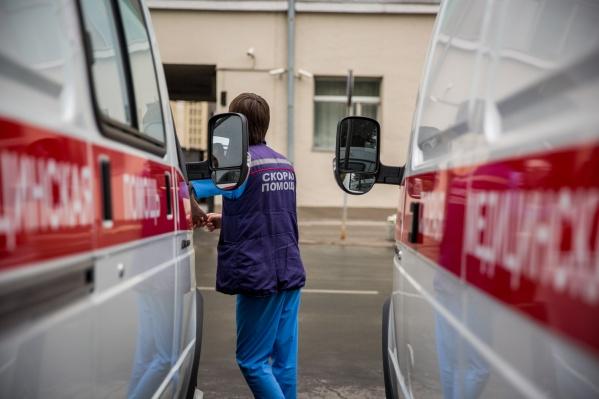 Пострадавшего перевезли из Кольцово в Новосибирскую областную больницу