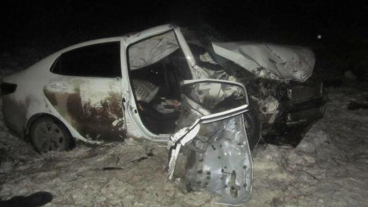 В Прикамье в автомобильной аварии погибли четыре человека