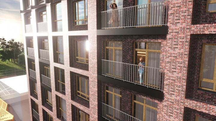Дом из 35 квартир, в некоторых установят камин на дровах — в центре возвели уникальную новостройку