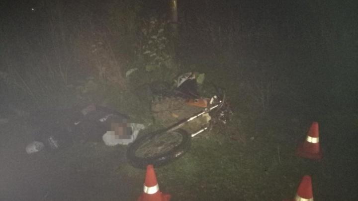 В Прикамье 17-летний парень сел за руль мотоцикла пьяным и погиб