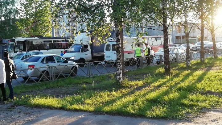 В Ярославле девушка на мотоцикле сбила ребёнка