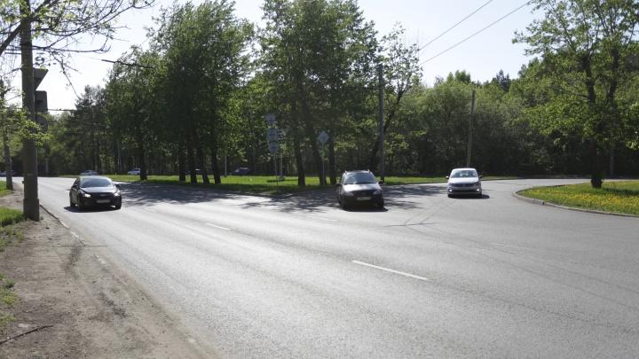 Будет два кольца: челябинские чиновники передумали делать Т-образный перекрёсток на Блюхера