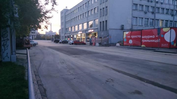 На улице Ленина открыли движение после ремонта теплотрассы