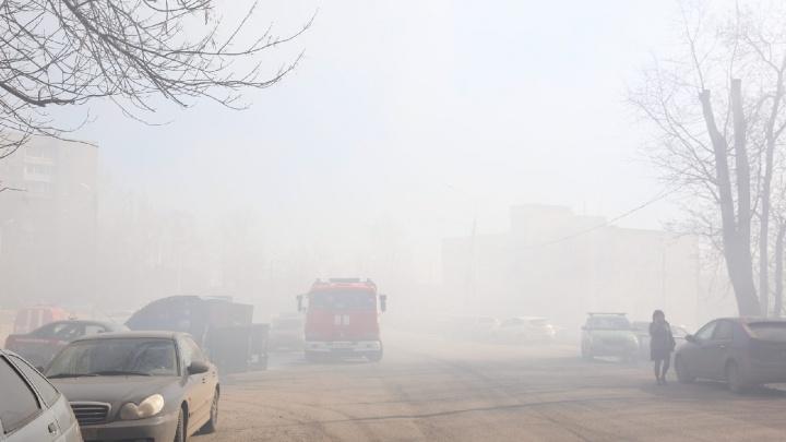 В Ярославле из-за пожара улицу затянуло дымом: где ехать осторожно