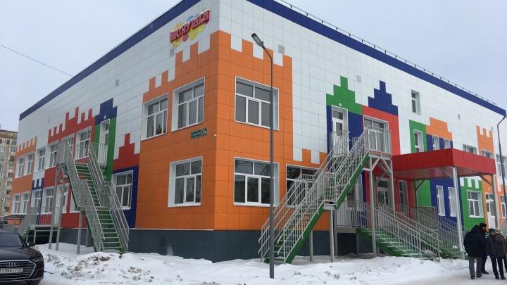 Власти Зауралья озвучили сроки окончания строительства детсада в Заозёрном
