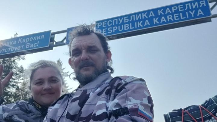 Портал в другой мир и водопад, которого нет: Карелия глазами байкера из Нижнего Новгорода