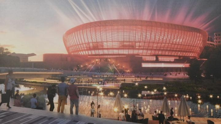 УГМК показала, как будет выглядеть набережная у ледовой арены. Публикуем эскизы