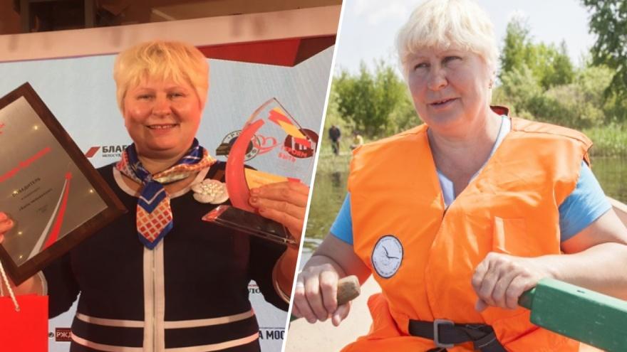 Работу почтальона, которая на лодке возит письма на остров, признали подвигом длиною в жизнь