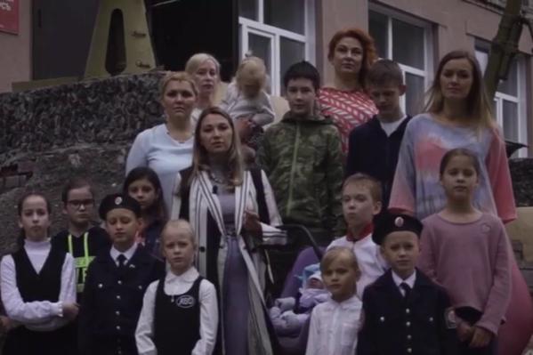 Видеоролик родители учащихся кадетов отправили на сайт прямой линии с президентом