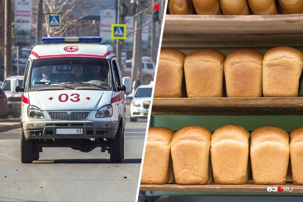 Хлеб для учеников пекла женщина, которая переболела дизентерией