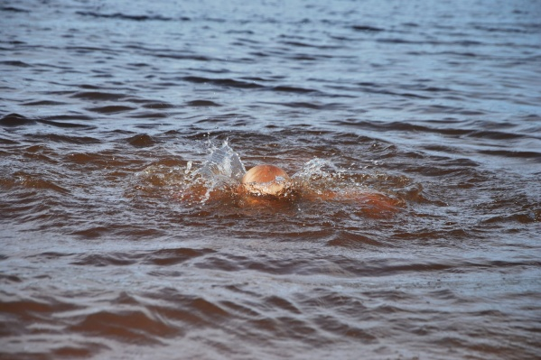 Мальчики купались в Онеге, в районе речного порта