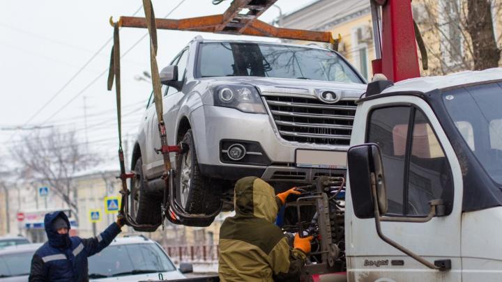 В Самаре увеличат тариф на эвакуацию машин нарушителей