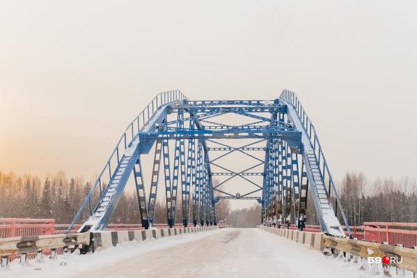 В 2019 году в Прикамье отремонтируют пять мостов