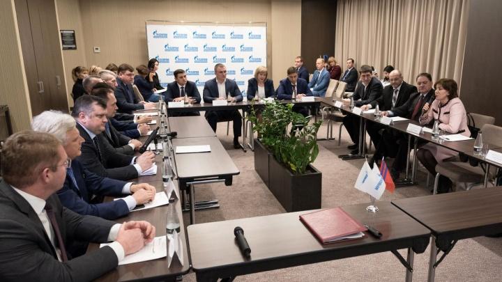 Предприятия группы «Газпром» в Волгоградской области подписали соглашение о сотрудничестве