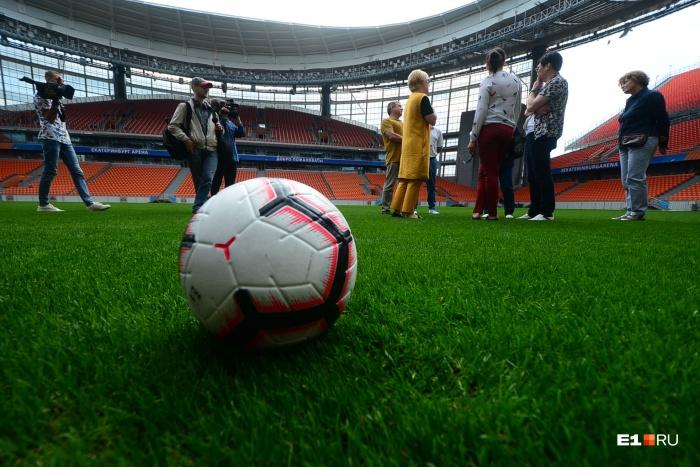 Комиссии FISU «Екатеринбург Арена» понравилась