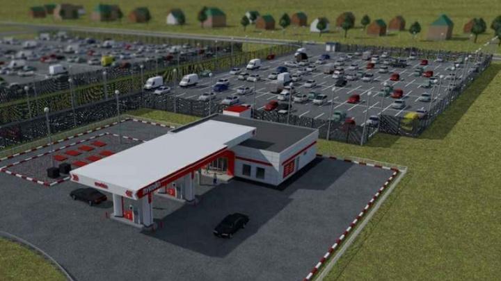 В уфимском аэропорту откроется новая парковка на 228 мест