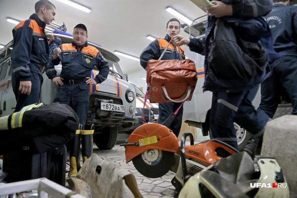 На место выезжали спасатели