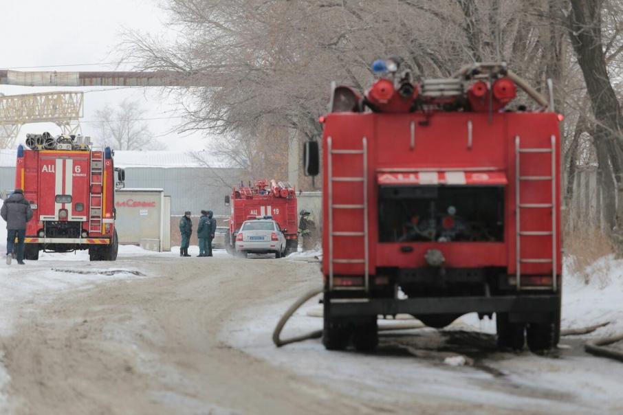 Пожарные работают по второму рангу сложности
