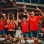 Болели за Россию до конца: 14 эмоциональных кадров тюменцев во время матча с Хорватией