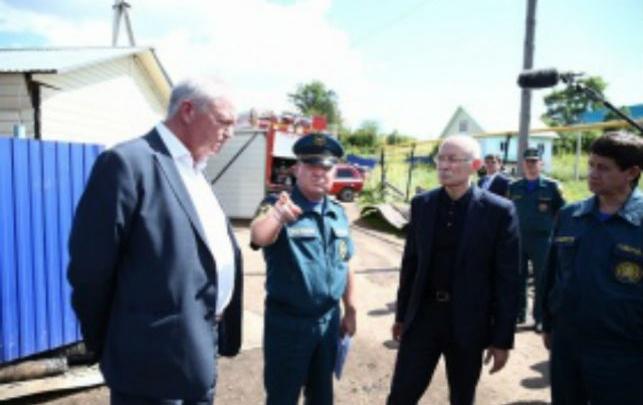 Глава Башкирии поручил установить в домах Башкирии датчики дыма