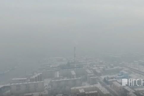 Горожане пожаловались на смог ещё вчера вечером