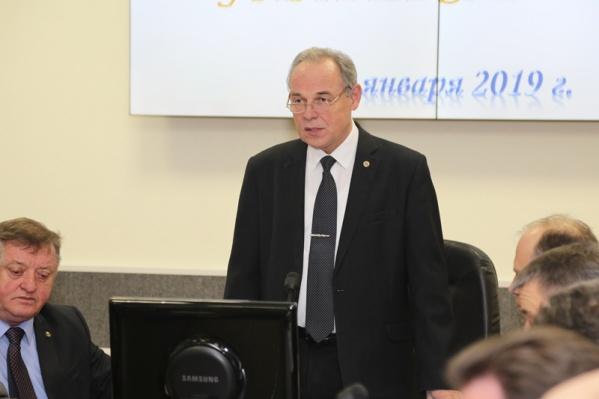 Владимир Лысак возглавлял ВолгГТУ с 2014 года