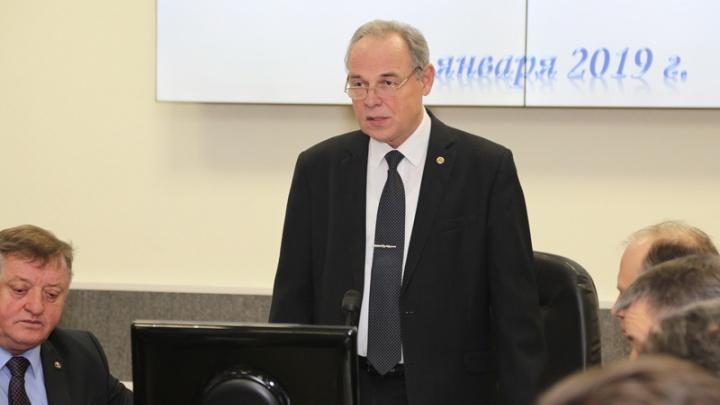 Ректор ВолгГТУ Владимир Лысак покидает должность на фоне двух уголовных дел о взятках в вузе