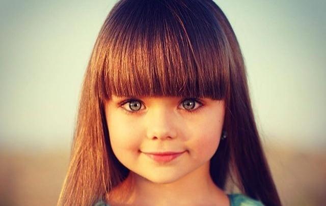 Daily Mail признал самой красивой девочкой мира россиянку