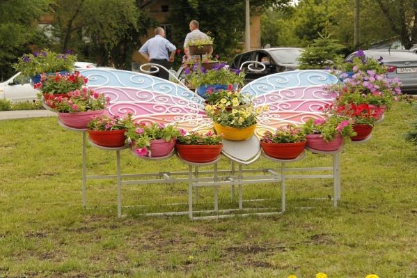 Старейший парк Самары украсят фигурами из цветов