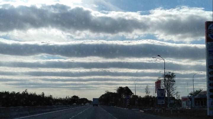 В Нижегородскую область занесло редкие австралийские облака. Смотрим и поражаемся