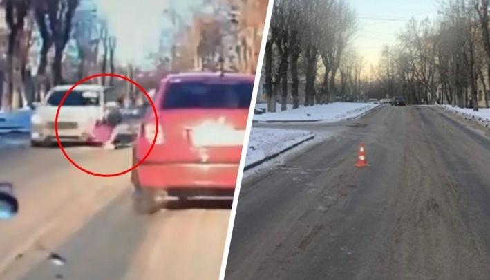 Дорожное видео недели: смертельный вылет в столб, безумец на Lexus и полёт школьницы