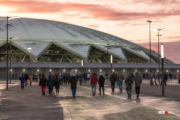 На стадионе планируют проводить не только спортивные матчи, но и концерты