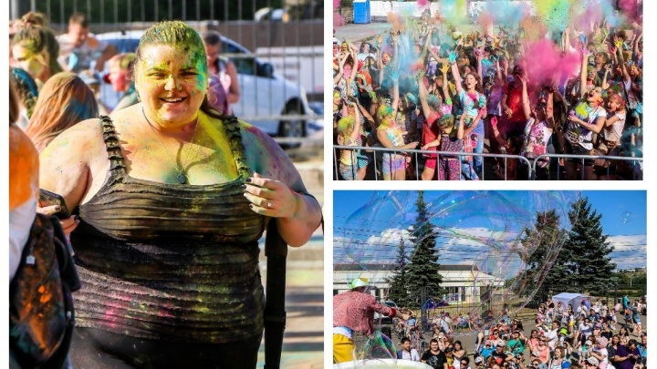 Разноцветная бомба: смотрим фоторепортаж NN.RU с фестиваля красок и мыльных пузырей