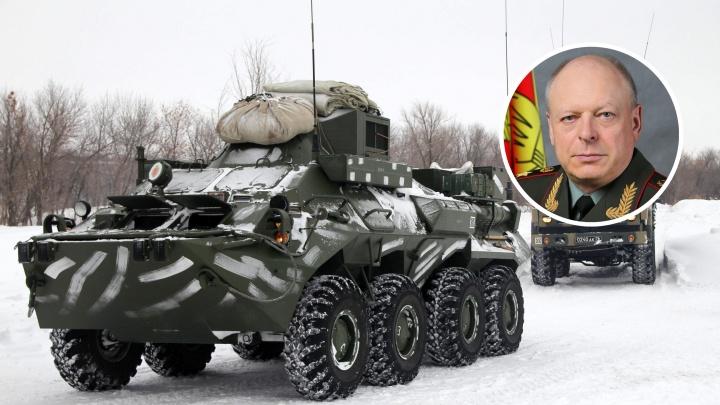 Главком Сухопутных войск России прибыл в Самарскую область