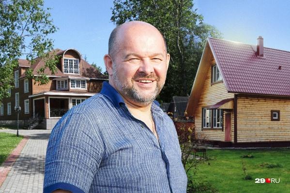 Губернатор Игорь Орлов мечтает о доме, квартиры он не рассматривает