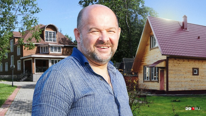 Аналитики подсчитали, какой загородный дом губернатор Архангельской области может себе позволить