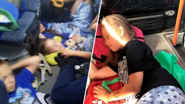 Везли детей в обычной маршрутке: челябинские школьники, возвращавшиеся из Крыма, застряли в Саратове