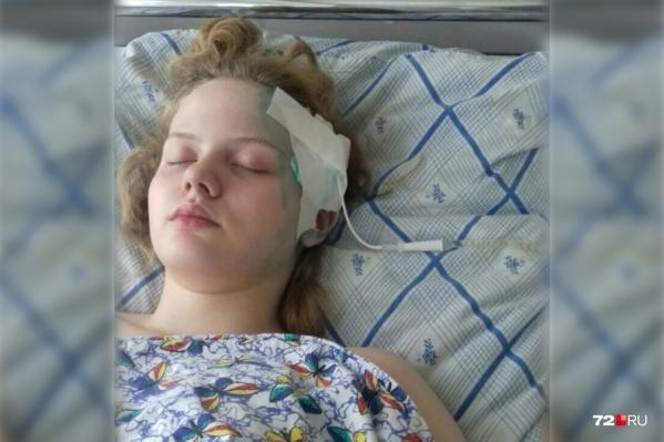 Виталина Копылова перенесла две операции на мозге