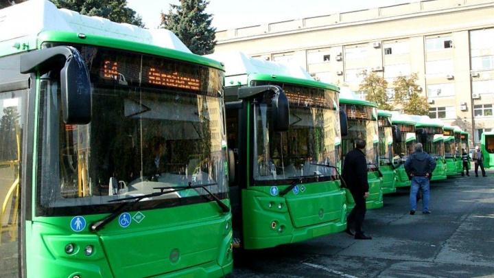 В Челябинске на два маршрута вывели новые экологичные автобусы