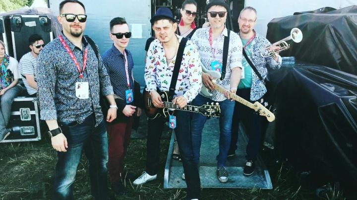 Новосибирская группа выступила на «Нашествии» и прошла в финал музыкального конкурса