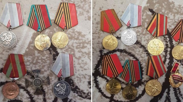 В Самарской области задержали мужчину, который торговал медалями ВОВ и кинжалами через интернет