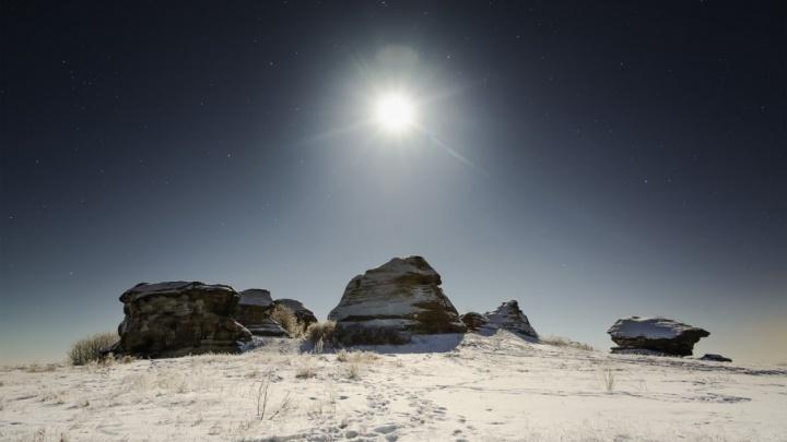 Ночь и горы: читатели 74.ru выбрали лучшее фото января