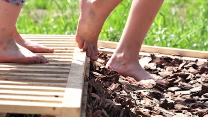 В Уфе могут появиться тактильные дорожки для детей