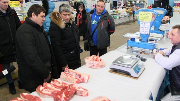 На Троицком рынке в Самаре нашли нарушения санитарных норм